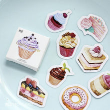 """Cakes on Cakes"" Paper Stickers - Set of 45 Self-Adhesive Paper Stickers"