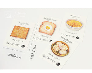 """Feed Me"" Four Piece Sticky Note Set"