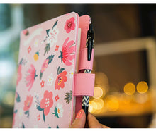"""Flower Crown"" Planner Cover - Sizes Large + Small"
