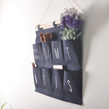 Weekly Organizer - Hanging Canvas Scheduler