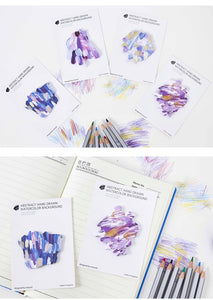 Oil Paint Inspired Sticky Note Pads