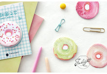 """I Love You More Than Donuts"" Sweet Memo Pads - 4 Colors Available - Sticky Notes"