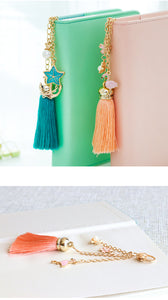Planner Tassels and Charms - Five Color Options - Planner Accessory