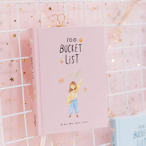 """The Bucket List"" - Illustrated Agenda Series - Four Box Set Choices"