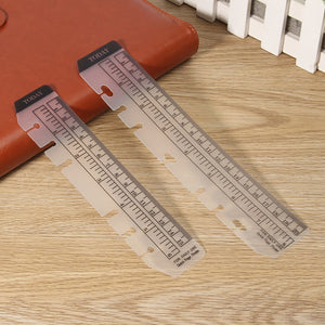 """TODAY"" Planner Bookmark + Ruler - Sizes Large + Small - Planner Inserts"