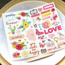 Lovely Me Planner Stickers - 2 Sheets