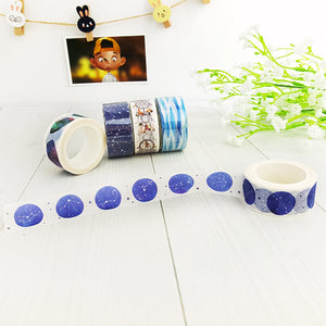 """Oh My Stars"" Astrological Washi Tape - 20mm x 8m"