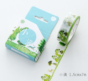 SOLD OUT Forest Scenes Washi Tape - 1.5cm x 7m