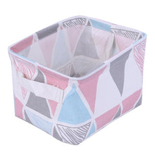 Collapsible Linen Storage Boxes - Office Organization - 5 Patterns Available