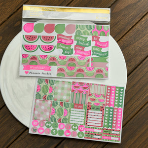 Watermelon Planner Sticker Set