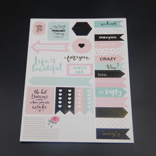 Best Wishes Planner Stickers - 6 Sheet Set