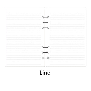 Size LARGE - Planner Inserts - Monthly, Weekly, Blank, Lined Choices