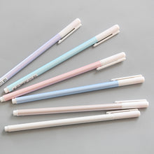 Pastel Black Ink Pen Set - 0.38 mm - Refillable
