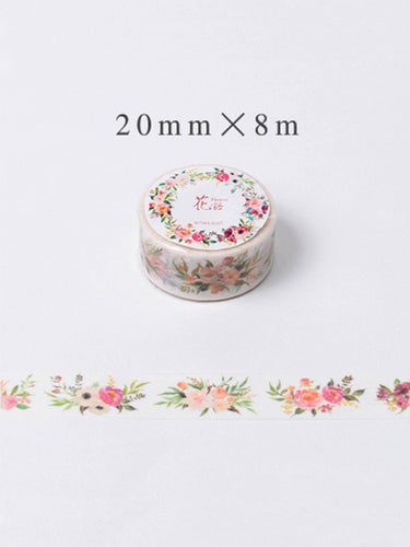 Gorgeous Floral Washi Tape - 20mm x 8m