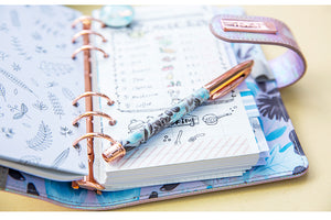 """Mermaid For Today"" Holographic COMPLETE Planner - Small Personal"