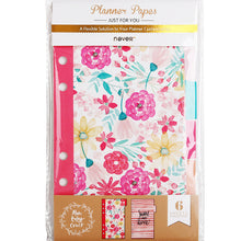 Mid-Summer's Dream - Six Piece Planner Page Dividers - Small A6