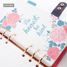 Rosebush Series - Small/Personal Planner Page Dividers