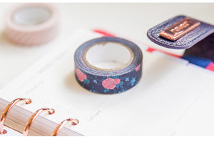 NEVER Brand Rosebush Series Washi Tape Three Piece Set
