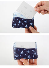 NEVER Brand Rosebush Series Credit Card Holder