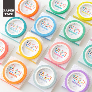 Seagreen - Extra Thin Washi Tape - 5mm x 7m