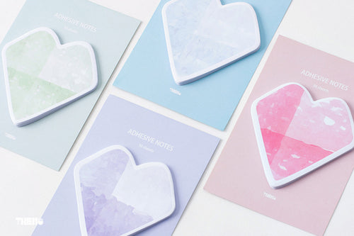 Take My Hearts - Set of Four Sticky Note Pads