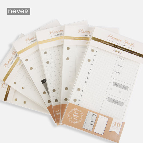 Personal Planner Inserts - Daily, Shopping, Weekly, and MORE