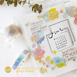 Keep the Faith - Inspirational Washi Tape