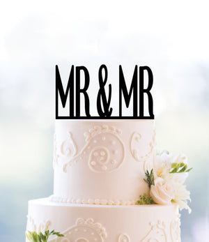 Custom Gay Wedding Cake Topper, Mr and Mr Cake Topper, Same Sex Wedding Cake Topper, Gay Wedding Decor, Modern Wedding Cake Topper (T096)