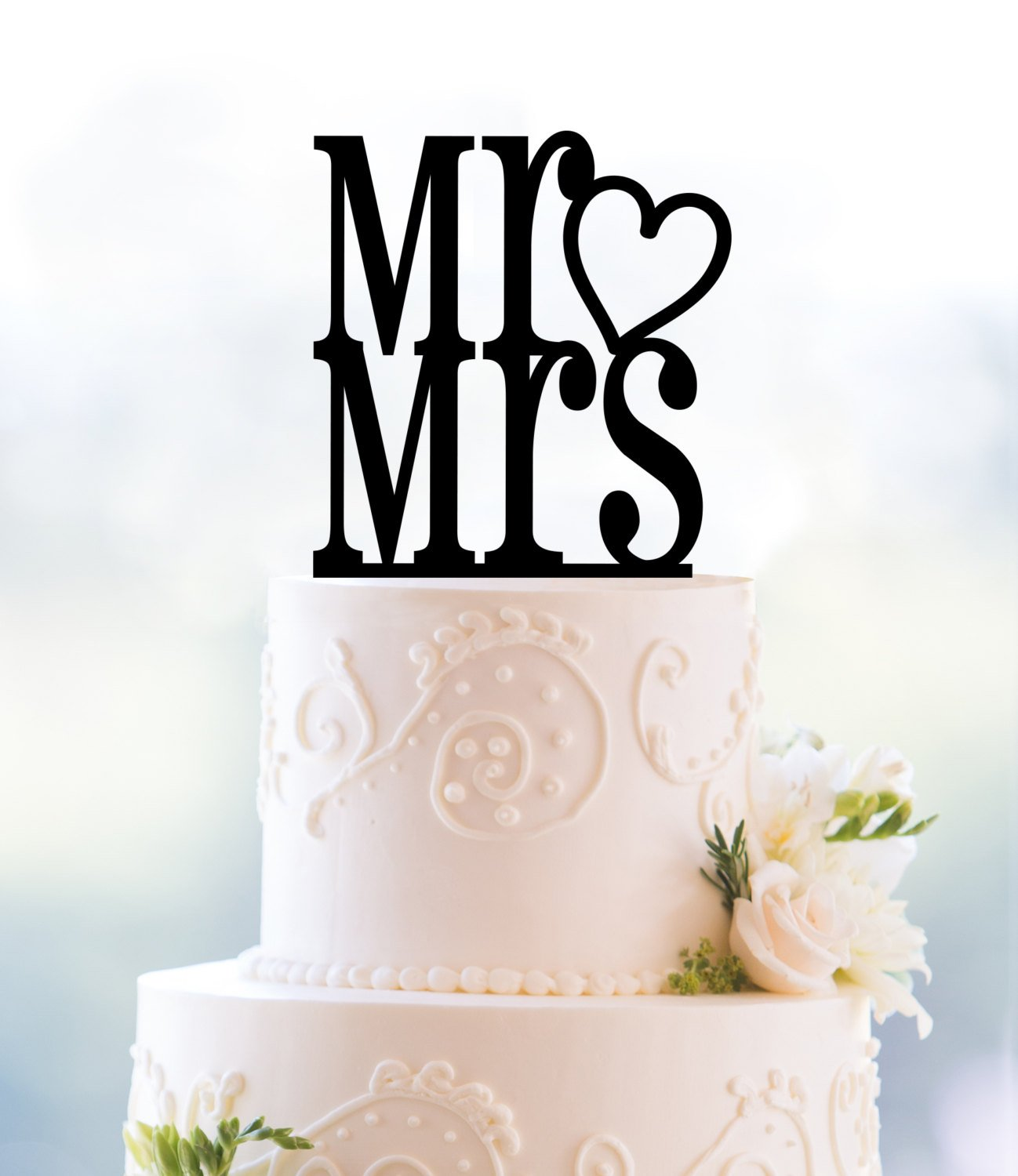 Cutest Wedding Cake Toppers.Mr And Mrs With Heart Cake Topper Wedding Cake Toppers Cute Cake Topper Romantic Cake Topper Engagement Gift Bridal Shower Gift T066