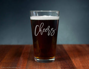 Cheers Ale Glass (GG4132)