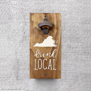 Custom Drink Local Bottle Opener (GA8004)