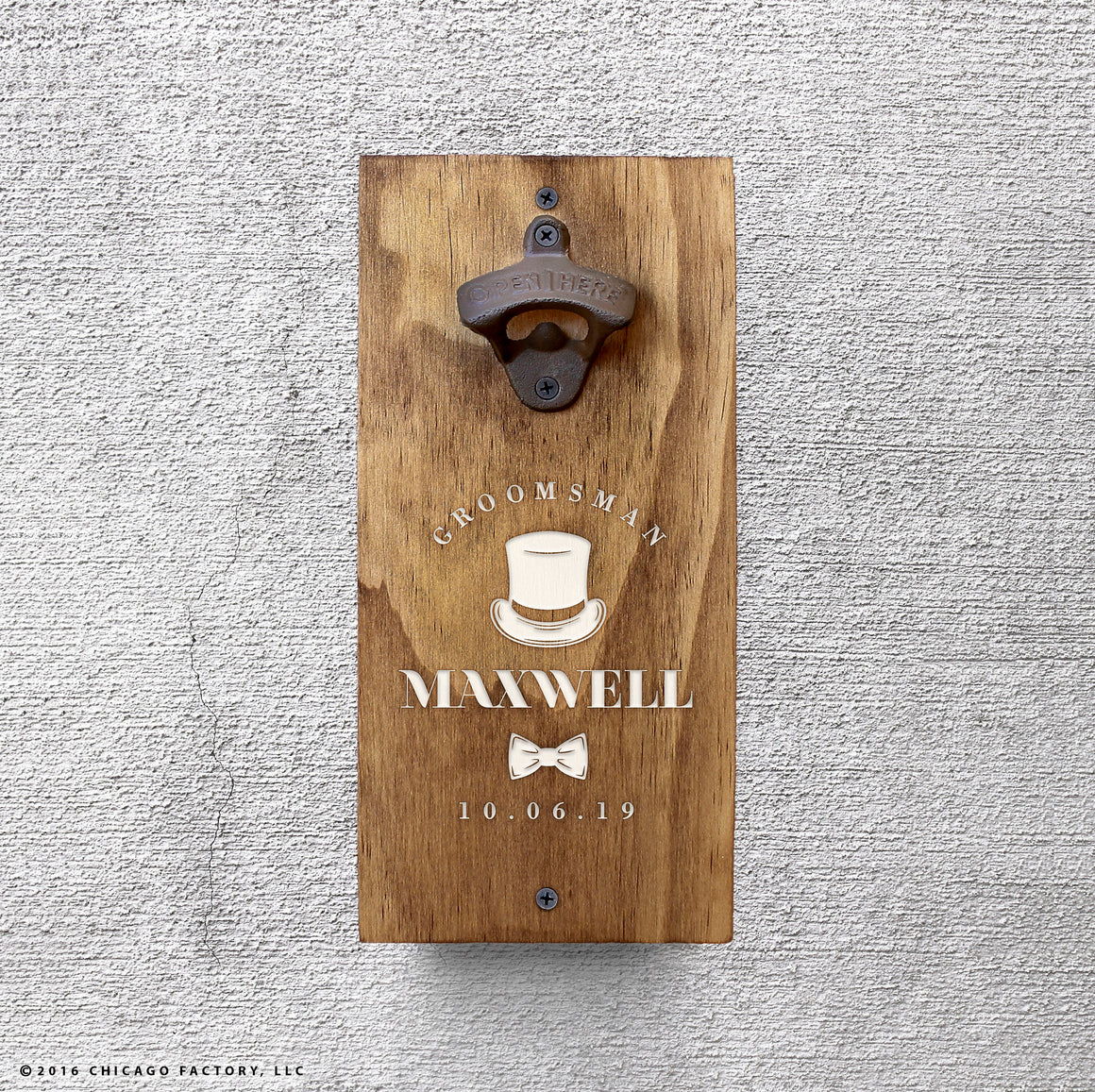 Customized Bottle Opener (GA8011)