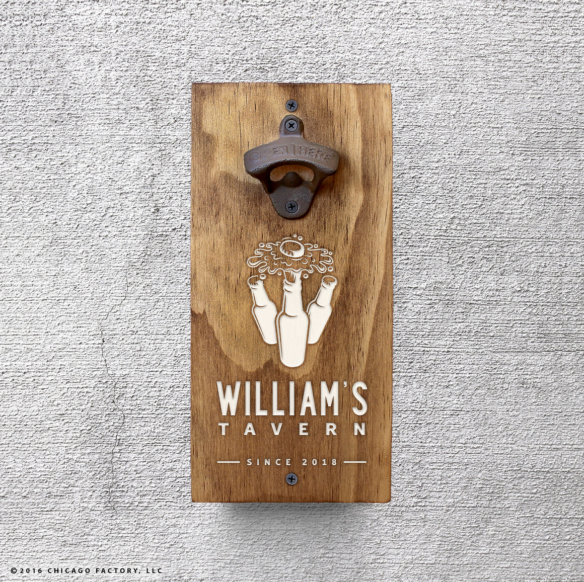 Personalized Beer Tavern Bottle Opener (GA8021)