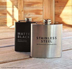 Bachelor Party Gifts, Personalized Flasks, Groomsmen Flask (GG4063)