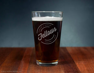 Last Name Glass Custom Engraved Ale Glass (GG4142)