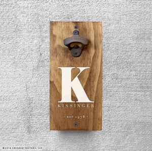 Personalized Bottle Opener (GA8000)