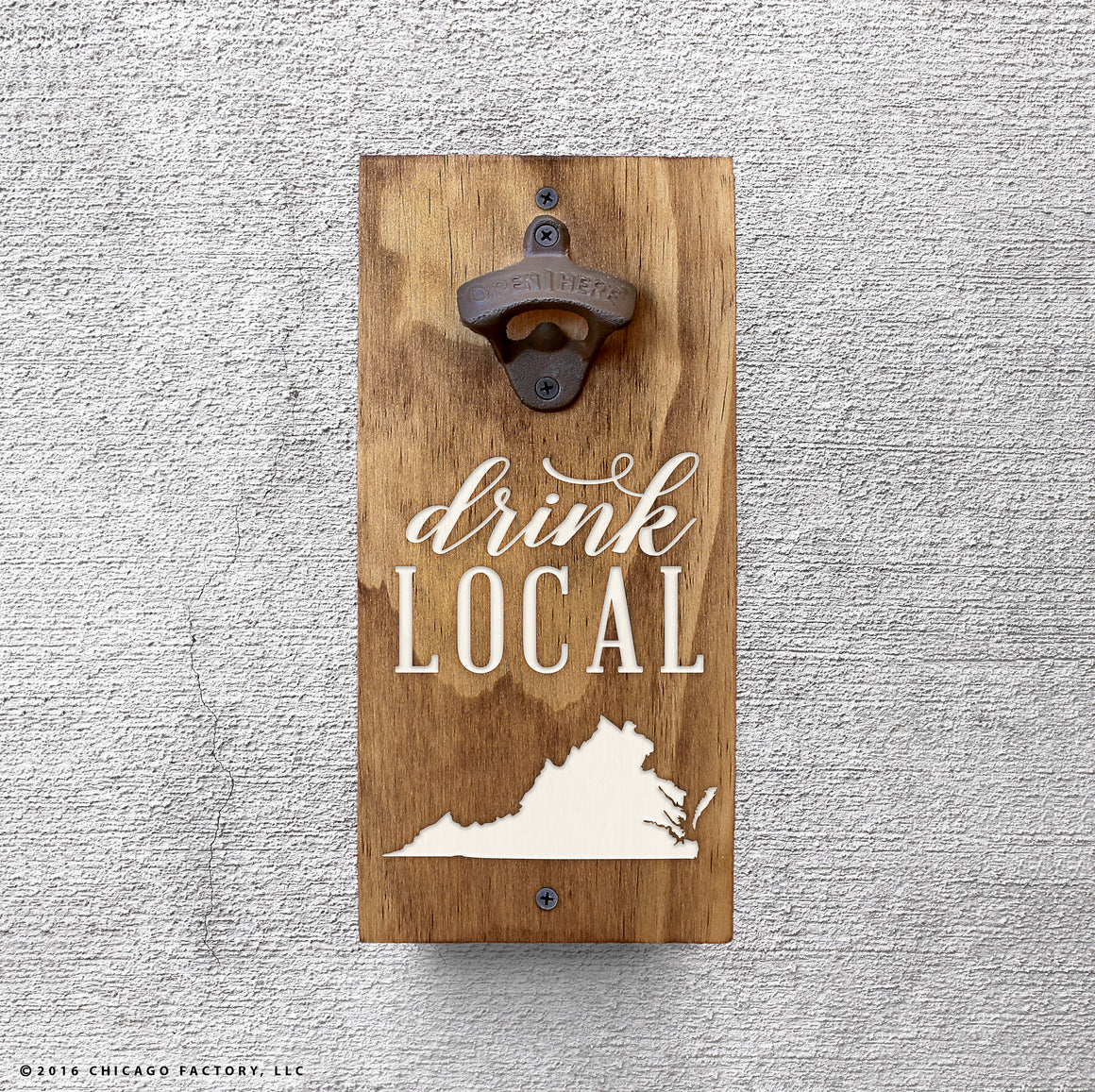 Custom Drink Local Bottle Opener (GA8002)