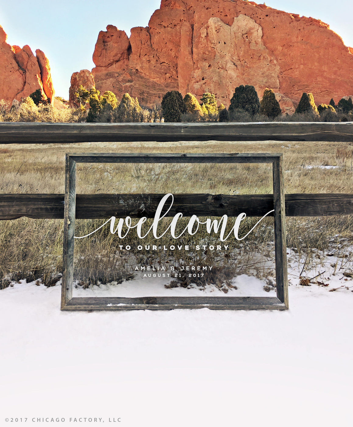 Love Story Clear Acrylic Wedding Sign Wedding Welcome Sign Plexiglass Sign Wedding Sign Wedding Date Sign (GP1166-A)