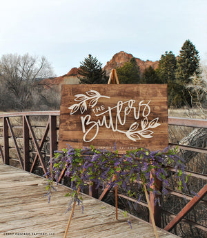 Wedding Welcome Sign (GP1332)