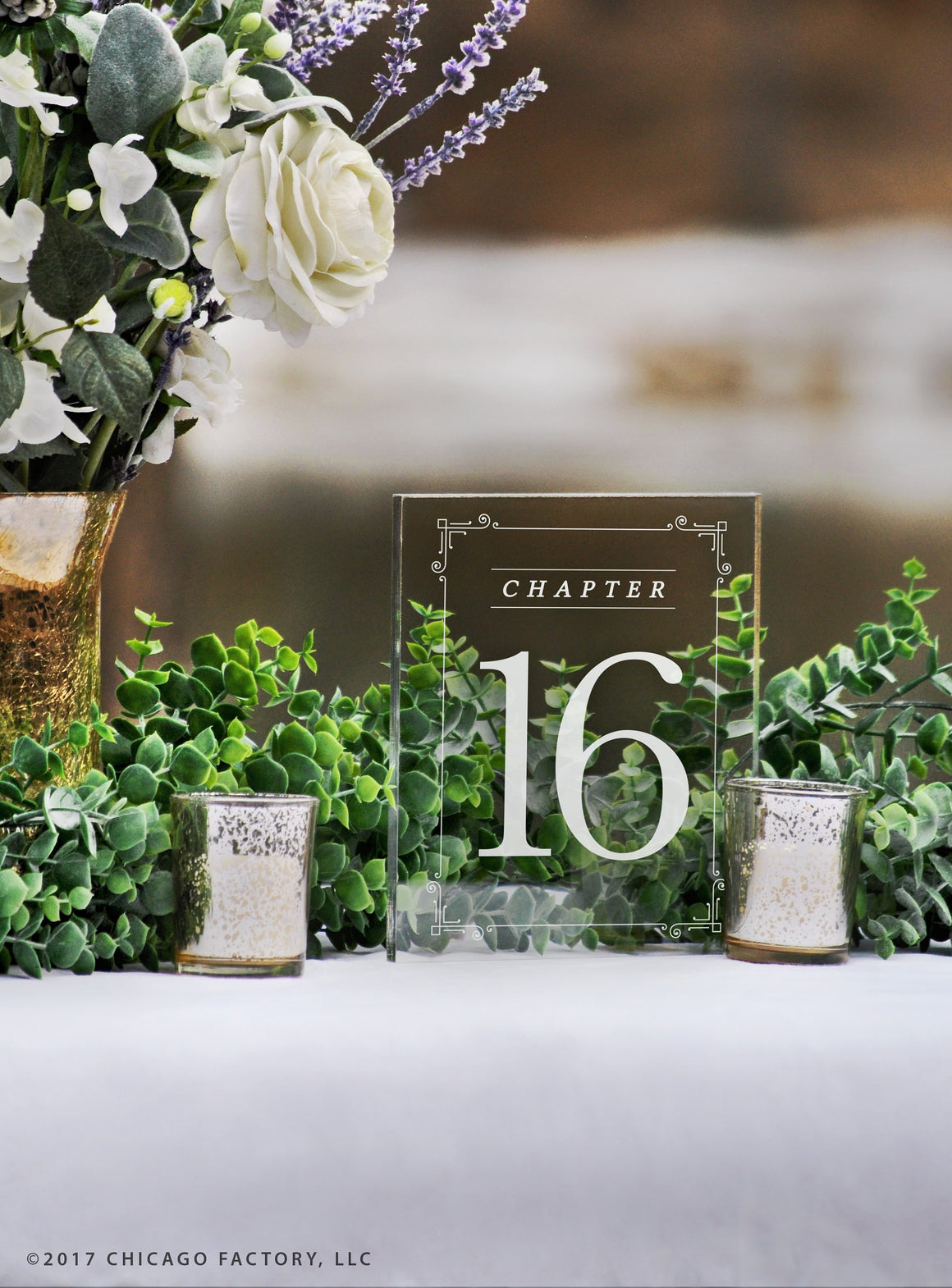 Acrylic Table Numbers, Wedding Table Numbers (GP1661)