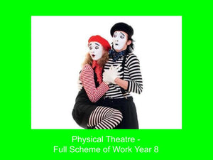 Physical Theatre and Mime - Scheme of Work KS3 Year 8