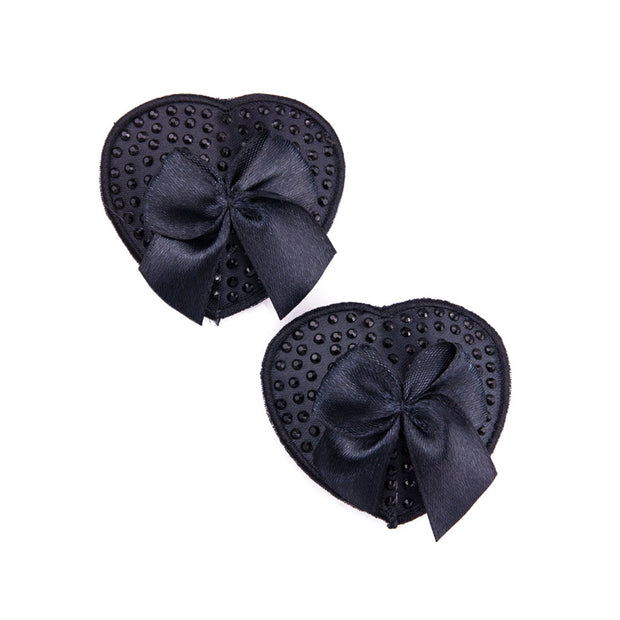 Black Muffy Boucher | Heart Nipple Pasties and Tassels – Appeeling
