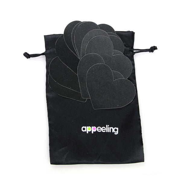 Appeeling Nipple Petals Set - Black
