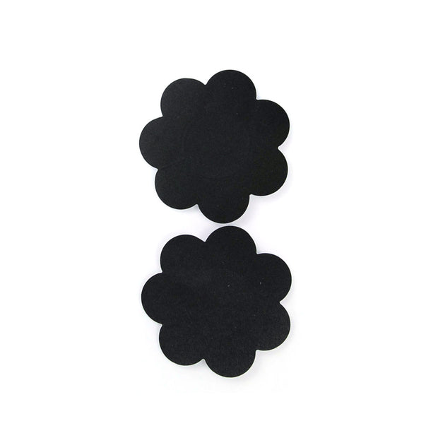 Flower Shape Nipple Petals - Black
