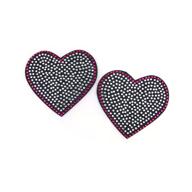 Glam Rock Heart Pasties - Appeeling