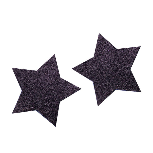 Black Glitter Star Nipple Covers & Pasties – Appeeling
