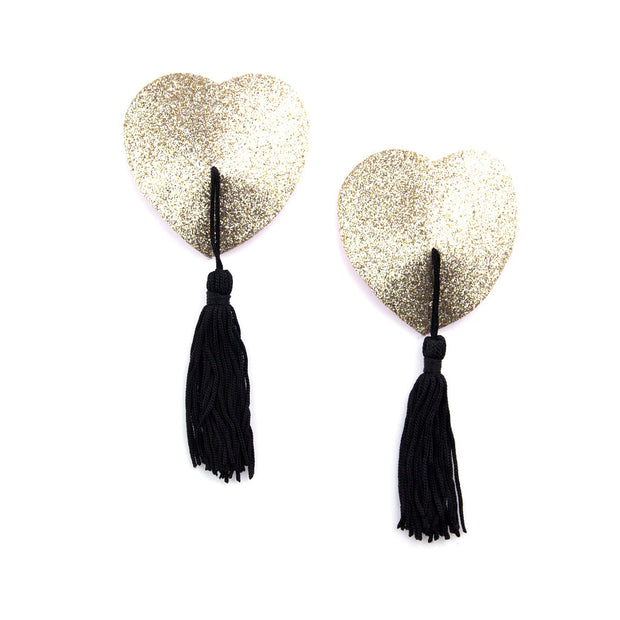 Miss Behaving | Gold Glitter Pasties and Tassels – Appeeling