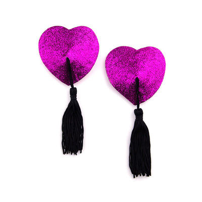 Miss Behaving | Pink Glitter Pasties and Tassels – Appeeling