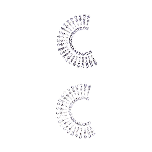 Silver Lady Luck Horseshoe Shaped Pasties & Tassels – Appeeling