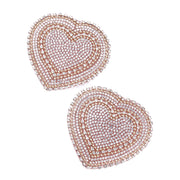 Josephine Jewel – Nude Heart Shaped Nipple Pasties – Appeeling